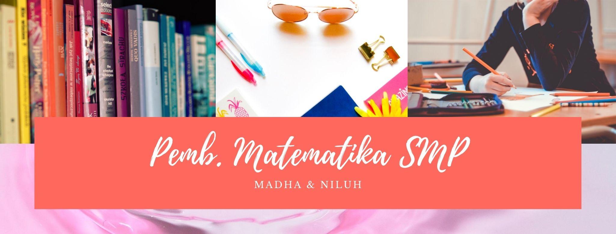 Pembelajaran Matematika SMP A (PMAT I/2020/2021) -NEW