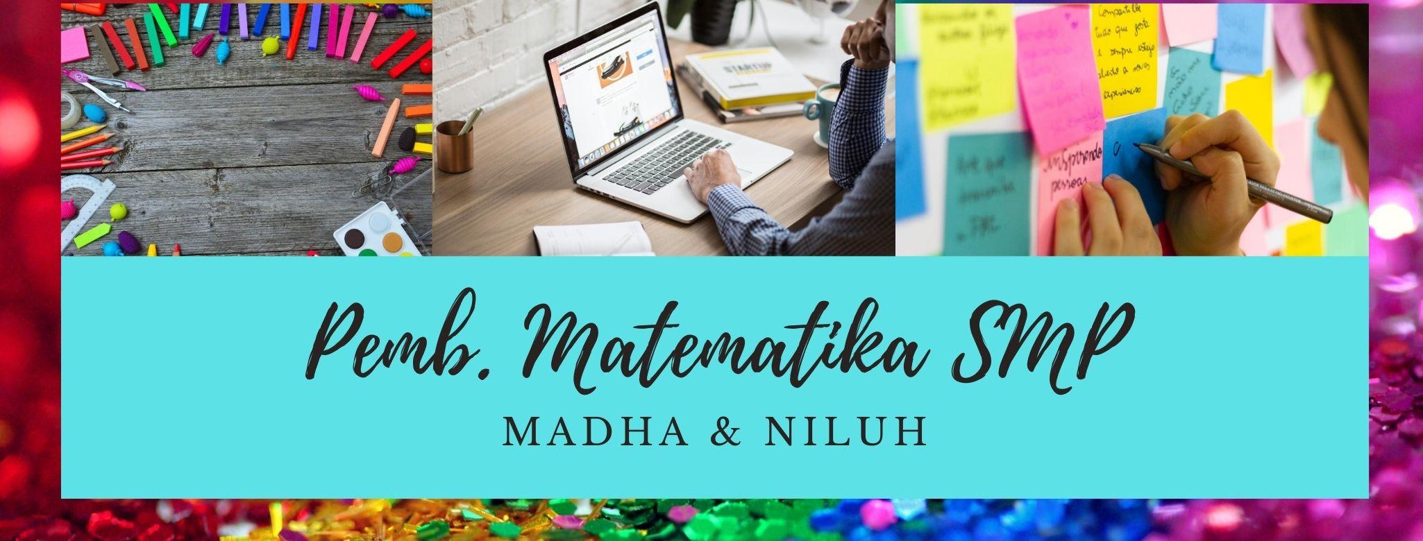 Pembelajaran Matematika SMP B (PMAT I/2020/2021) -NEW