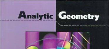 Geometri Analitik Bidang B (PMAT I/2020/2021) -NEW