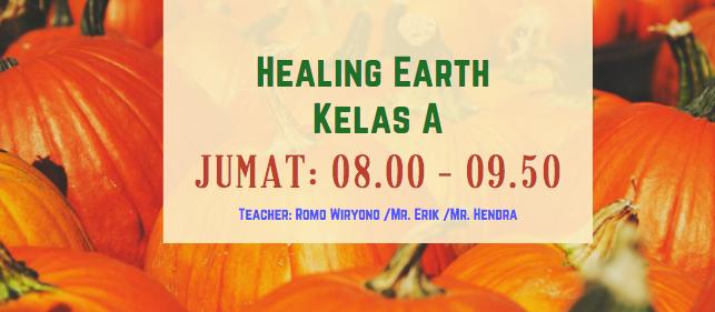 Healing Earth A (MAN I/2020/2021) -NEW