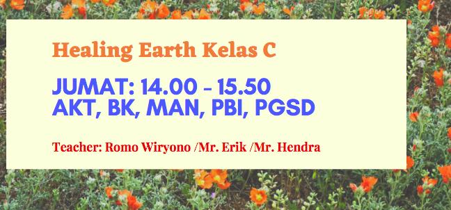 Healing Earth C (MAN I/2020/2021) -NEW